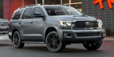 2018 Toyota Sequoia Platinum Magnetic Gray Metallic V8 57 L Automatic 10 miles 2018 Magnetic