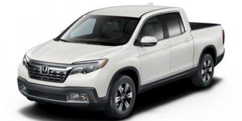 2018 Honda Ridgeline RTL-T Diamond White Pearl V6 35 L Automatic 1 miles  All Wheel Drive  T