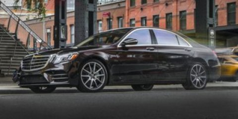 2018 Mercedes S-Class S 560 Selenite Grey MBlack Nappa Lea V8 40 L Automatic 5 miles With its