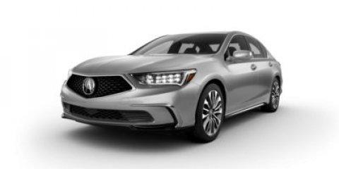 2018 Acura RLX wTechnology Pkg Platinum White PearlEbony V6 35 L Automatic 6 miles  WH EN ZZ
