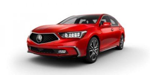 2018 Acura RLX Sport Hybrid wAdvance Pkg Majestic Black PearlEbony V6 35 L Automatic 6 miles