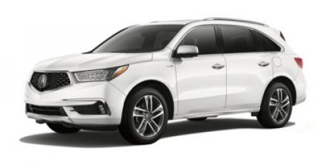 2018 Acura MDX Sport Hybrid wTechnology Pkg Basque Red Pearl IIParchment V6 30 L Automatic 6