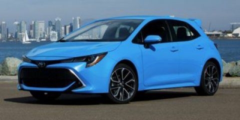 2019 Toyota Corolla Hatchback SE Smoked Paprika MetallicBlack V4 20 L Variable 0 miles  FE
