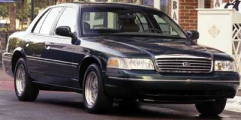 2001 Ford Crown Victoria 4DR SDN STANDARD Tan V8 46L Automatic 146955 miles  Rear Wheel Drive