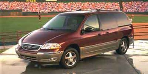 2000 Ford Windstar Wagon LX Toreador Red Metallic V6 38L Automatic 165792 miles Priced Below