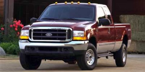2002 Ford Super Duty F-350 SRW Lariat Oxford White V8 73L  205892 miles  F