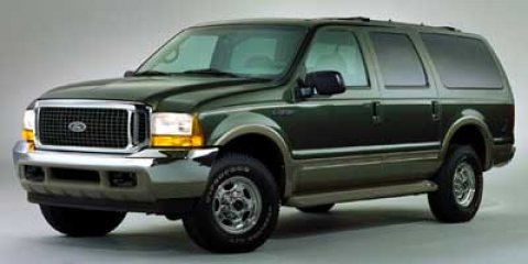 2000 Ford Excursion Limited Estate Green MetallicTAN LTH LUX CAPTCONSOLE V10 68 Automatic 743