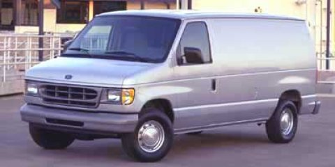 2001 Ford Econoline Cargo Van Oxford White V8 46L Automatic 166606 miles  Rear Wheel Drive  T