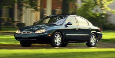 1999 Mercury Sable LS Graphite Blue Metallic V6 30L Automatic 206214 miles  Front Wheel Drive