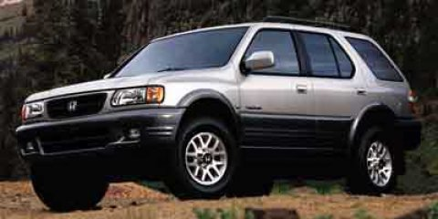 2001 Honda Passport EX Bright Silver Metallic V6 32L Automatic 146354 miles  Four Wheel Drive
