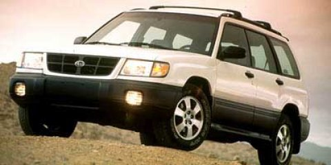1999 Subaru Forester S  V4 25L Manual 183638 miles  All Wheel Drive  Tires - Front All-Season