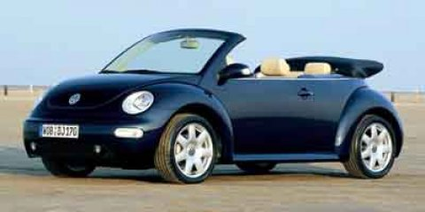 2003 Volkswagen New Beetle Convertible GLS Black V4 20L Automatic 121088 miles PREMIUM  KEY