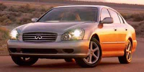 2003 Infiniti Q45 4DR SDN LUX AUTO Brilliant Silver V8 45L Automatic 60190 miles  Traction Co