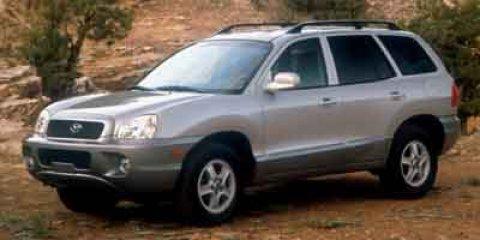 2003 Hyundai Santa Fe GLS Canyon Red V6 35L Automatic 144979 miles  Four Wheel Drive  Tracti