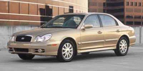 2003 Hyundai Sonata Ebony BlackBlack V6 27L Automatic 176725 miles GUARANTEED FINANCING FOR E