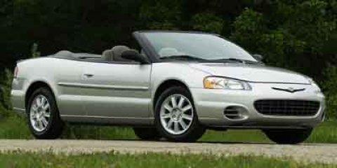 2003 Chrysler Sebring Limited Blue V6 27L Automatic 83380 miles  Front Wheel Drive  Tires - F