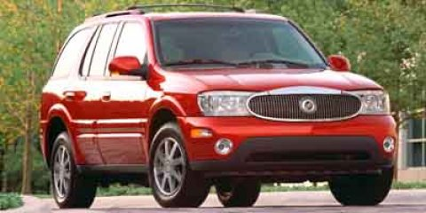 2004 Buick Rainier CXL Medium Red MetallicLight Cashmere V6 Vortec 42L I6 MPI Automatic 123549