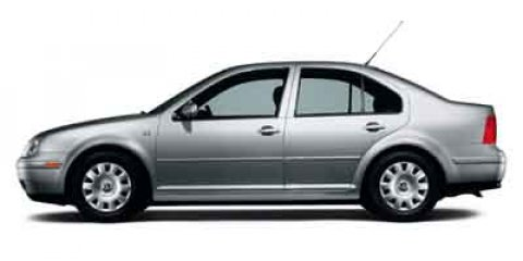 2003 Volkswagen Jetta Sedan GLS Black V4 20L Manual 151436 miles  Front Wheel Drive  Tires -