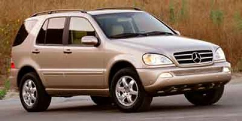 2003 Mercedes M-Class 50L  V8 50L Automatic 0 miles PLEASE PRINT AND PRESENT THIS PAGE TO REC
