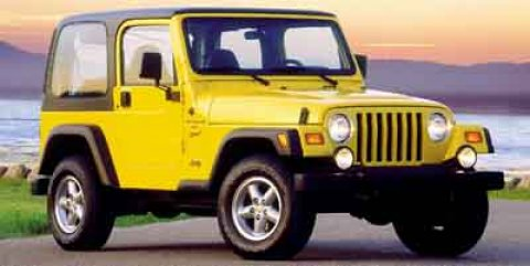 2000 Jeep Wrangler Sport Flame RedTAN V6 40L Manual 59968 miles  Four Wheel Drive  Tires - Fr