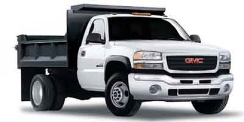 2004 GMC Sierra 3500 6x6 w  Dump Body Summit WhiteDark Pewter V8 60L Automatic 99848 miles  Fo