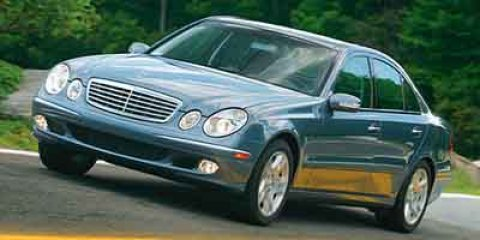 2004 Mercedes E-Class 32L Blue V6 32L Automatic 118837 miles  Traction Control  Stability C