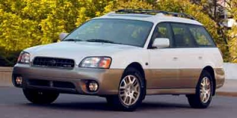 2003 Subaru Legacy Wagon Outback H6 LL Bean Edition Green V6 30L Automatic 161057 miles  Al