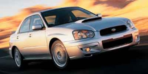 2004 Subaru Impreza Sedan WRX Platinum Silver Metallic V4 20L Manual 134634 miles  Turbocharge