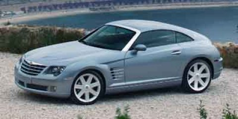 2004 Chrysler Crossfire Graphite Metallic V6 32L  76495 miles Crossfire trim Heated Leather S