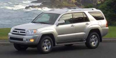 2004 Toyota 4Runner SR5 Titanium Metallic V6 40L Automatic 137488 miles  Rear Wheel Drive  To