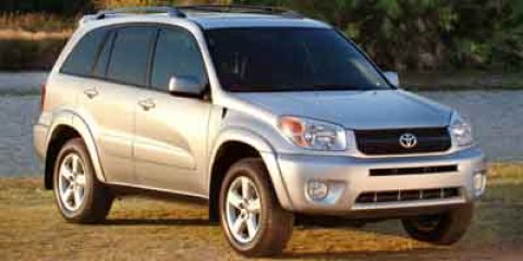 2004 Toyota RAV4 4DR 4WD AT Titanium Metallic V4 24L Automatic 82610 miles ABSOLUTELY IN THE W