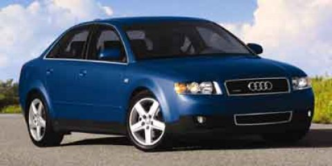 2004 Audi A4 30L  V6 30L Automatic 80737 miles  All Wheel Drive  Traction Control  Stabilit