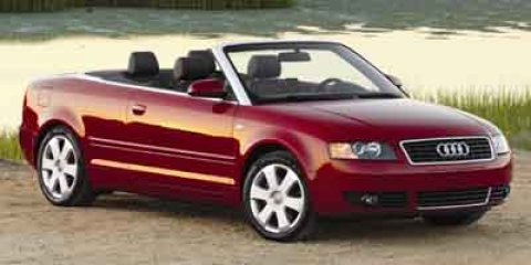 2004 Audi A4 30L Amulent Red V6 30L Variable 123066 miles The Sales Staff at Mac Haik Ford Li