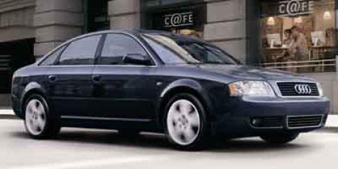 2004 Audi A6 30L Brilliant Black V6 30L Automatic 146322 miles  All Wheel Drive  Traction C