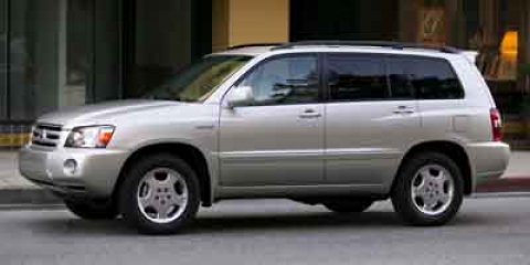 2004 Toyota Highlander Beige V6 33L Automatic 0 miles  Traction Control  Stability Control