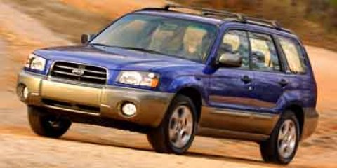 2004 Subaru Forester X Silver MetallicText Gray V4 25L Automatic 98100 miles Auburn Valley