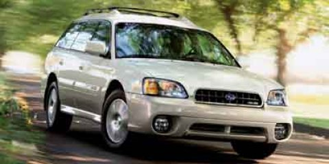 2004 Subaru  Outback H6 35th Ann Edition White Frost Pearl V6 30L Automatic 109101 miles  All
