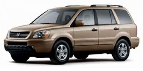 2004 Honda Pilot EX Goldmist V6 35L Automatic 145112 miles  All Wheel Drive  Tires - Front Al
