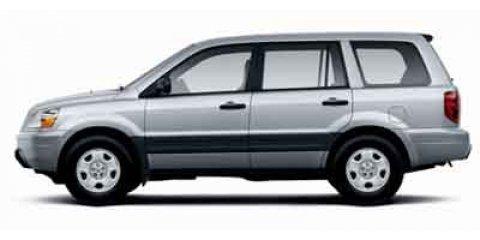 2004 Honda Pilot LX Starlight Silver Metallic V6 35L Automatic 150959 miles  All Wheel Drive