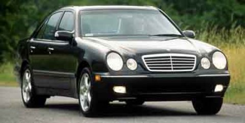 2001 Mercedes E-Class E320 BlackCharcoal V6 32L Automatic 53966 miles  Traction Control  Stab