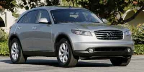 2004 Infiniti FX35 Ivory PearlTan V6 35L Automatic 83070 miles Form meets function with the 2