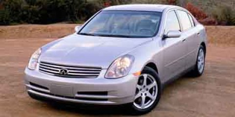 2004 Infiniti G35 Sedan wLeather GOLD V6 35L Automatic 195550 miles Delivers 24 Highway MPG