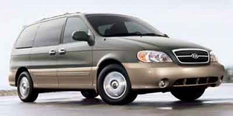 2005 Kia Sedona GOLD V6 35L Automatic 157491 miles  Front Wheel Drive  Tires - Front All-Sea