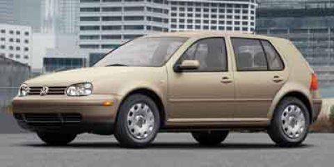 2004 Volkswagen Golf GL  V4 20L Manual 127503 miles  Front Wheel Drive  Tires - Front All-Se