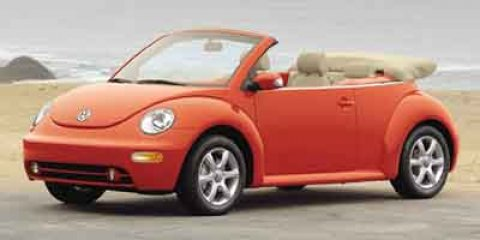 2004 Volkswagen New Beetle Convertible GLS Turbo Mellow YellowBLACK V4 18L Automatic 78977 mile