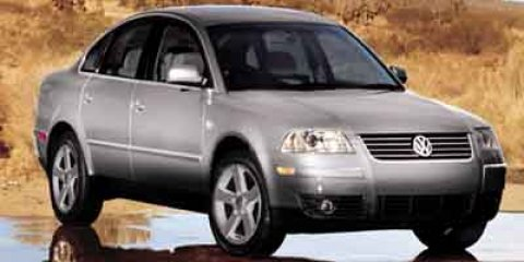 2004 Volkswagen Passat Sedan GLS  V4 20L Automatic 142704 miles  Turbocharged  Traction Contr
