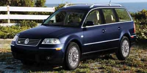 2004 Volkswagen Passat Wagon GLX  V6 28L Automatic 99595 miles HEATED FRONT SEATS LEATHER SEA