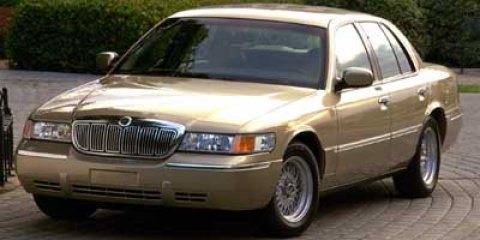 2002 Mercury Grand Marquis GS Vibrant White V8 46L Automatic 154738 miles  Traction Control