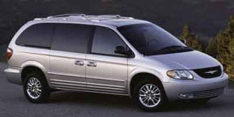 2003 Chrysler Town  Country LXi Bright Silver Metallic V6 38L Automatic 122342 miles  Front