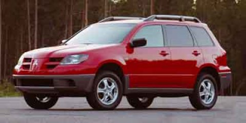 2004 Mitsubishi Outlander XLS  V4 24L Automatic 111848 miles  Engine Immobilizer  All Wheel D